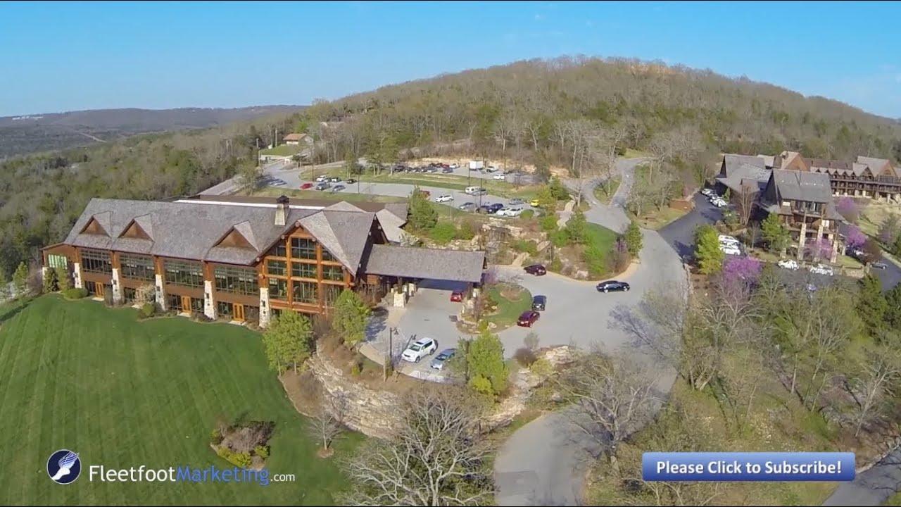 Big Cedar Lodge Branson Missouri Aerial Video Table Rock ...