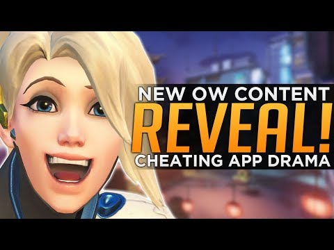 NEW Overwatch Content Reveal! - Cheating App Controversy