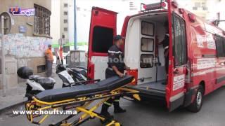 فيديو جد مؤثر..لحظة نقل السيدة المسنة التي عُثر عليها وحيدة في منزل مهجور بالبيضاء إلى المستشفى |