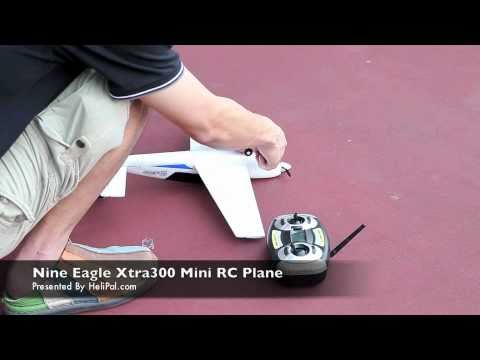 HeliPal.com - Nine Eagle Xtra 300 Mini RC Plane Test Flight 01