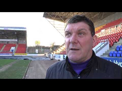 St. Johnstone pre match v Aberdeen - Tommy Wright and Chris Kane