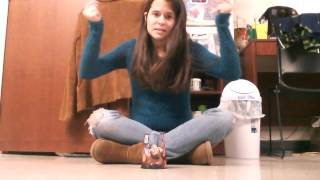 """Me Singing """"Let It Go' From Frozen Cup Song Style"""