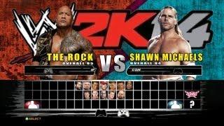 WWE 2K14 Match Finder + Online Game Play + Ranking