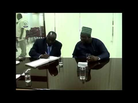 HON BELLO AYUBA'S VISIT TO BORNO STUDENTS AT AMET UNIVERSITY INDIA  HD 720p