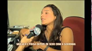 Mulher flagrada fazendo sexo com sobrinha de 12 anos � presa em Valadares
