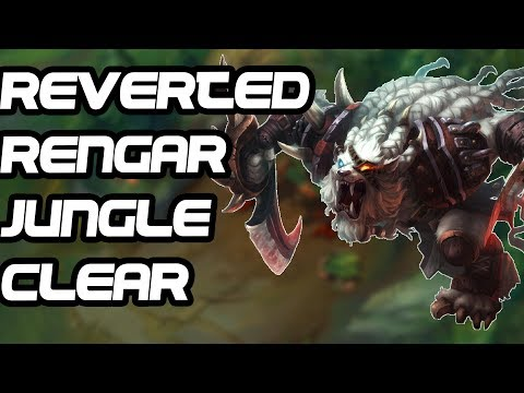 IJUSTRENGAR | How To Clear Your Jungle As Reverted Rengar - League of Legends Guide