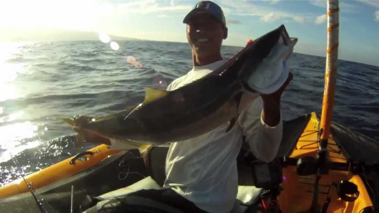 Extreme kayak fishing maui hawaii ch 5 waiehu water for Kayak fishing hawaii