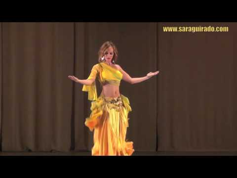 Sensual Spanish Arabic dancer الرقص الشرقي Amazing