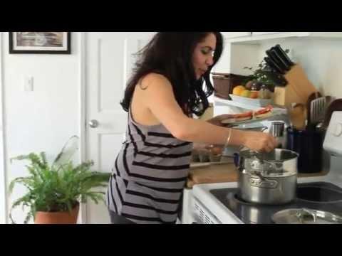 MVRF-The Enlightened Cook's Eye Healthy Recipe: Salmon Benedict