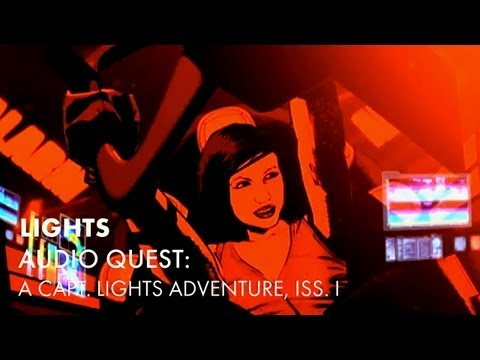 Audio Quest: A Capt. LIGHTS Adventure Issue 1