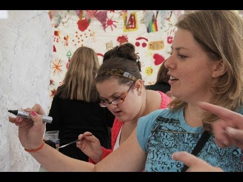Artists Resource Art and Craft Workshop at Bromley Town Centre Event Summer 2013