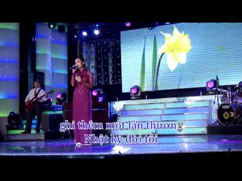 [HD] KARAOKE Giáng Tiên - NHẬT KÝ ĐỜI TÔI