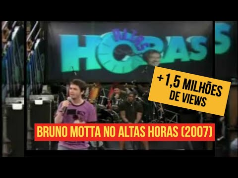 Bruno Motta no Altas Horas