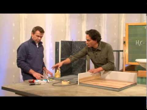 silikon fugen erneuern und abdichten youtube. Black Bedroom Furniture Sets. Home Design Ideas
