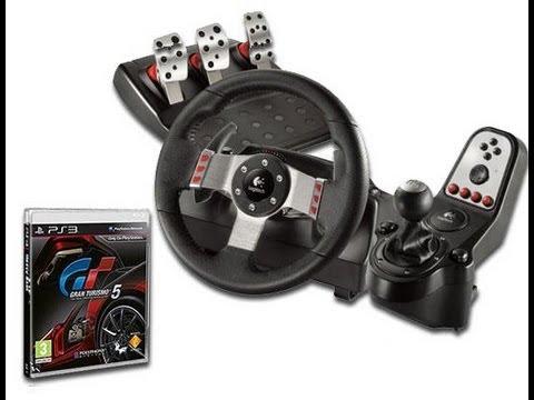 Nascar em Gran Turismo 5 com Volante G27:Teste