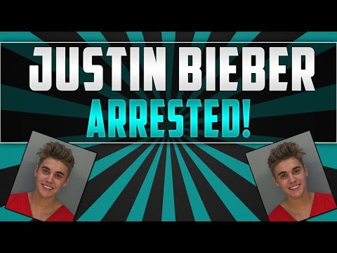 JUSTIN BIEBER ARRESTED - ARRAIGNMENT TRIAL!