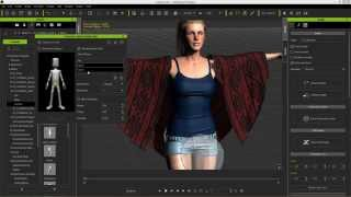 iClone Character Creator Tutorial - Soft Cloth Physics & Collision Setup