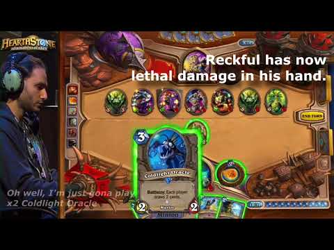 Reckful Lethal Damage Fail @ Blizzcon 2013 Hearthstone Invitational Reckful vs Kripparrian LUL