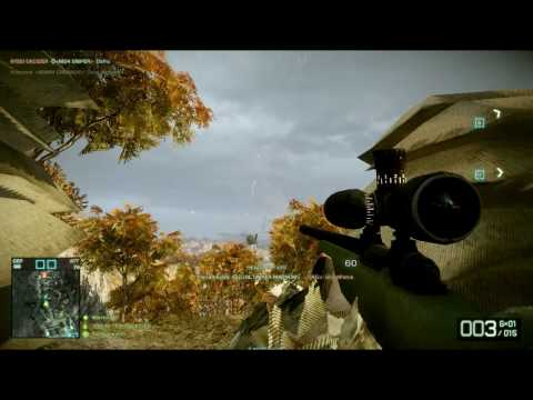 Battlefield Bad Company 2 Sniping Helicopter Pilots