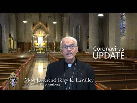 Bishop LaValley's June 1 Coronavirus Update  2020