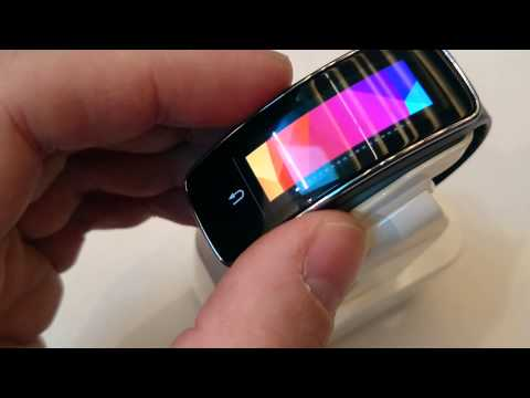 Hands On: Samsung Galaxy Gear Fit @ Mobile World Congress 2014