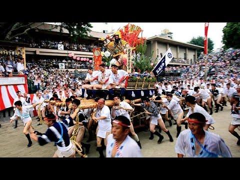 本番に向け博多祇園山笠の「追い山ならし」