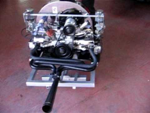 motor volkswagen escarabajo 1600 (porschebeetle)