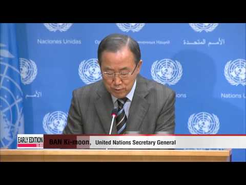 UN chief invites Iran to Syria peace talks