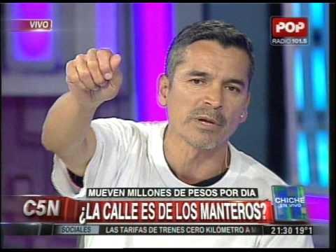 C5N - CHICHE EN VIVO: ¿LA CALLE  ES DE LOS MANTEROS?