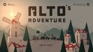 ALTO'S ADVENTURE :LEVEL 60_FINAL LEVEL ios/android gameplay