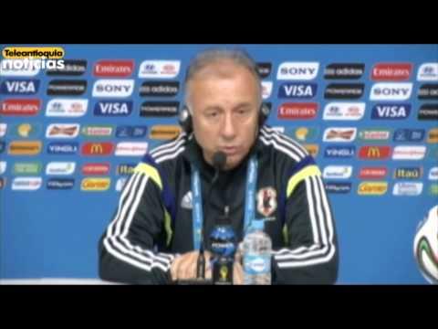 Técnico  de Japón, Alberto Zaccheroni, analiza partido ante Colombia