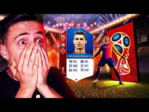 RONALDO A CSOMAGBAN!!! | FIFA 18 - WORLD CUP PACK OPENING