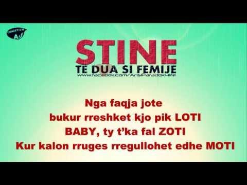 STINE - Te dua si femije (Official Lyrics HD)
