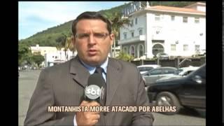 Montanhista morre atacado por abelhas durante escalada em Andradas