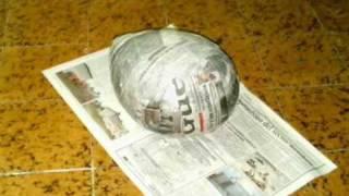 Halo Helmet Paper Mache