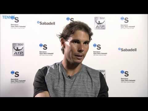 Rafael Nadal Talks About Opening Barcelona Win