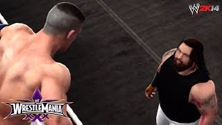 WWE Wrestlemania 30 John Cena Vs Bray Wyatt (WWE 2K14