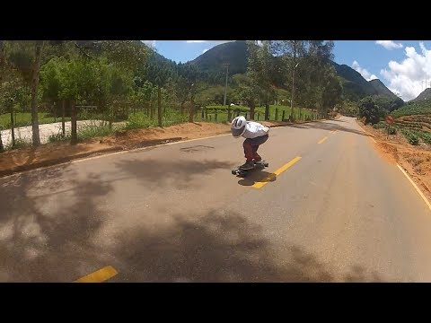 Rubim Downhill Speed - Raw Run Galo Ultragás - Vale do Canaã - Go Longboard ES
