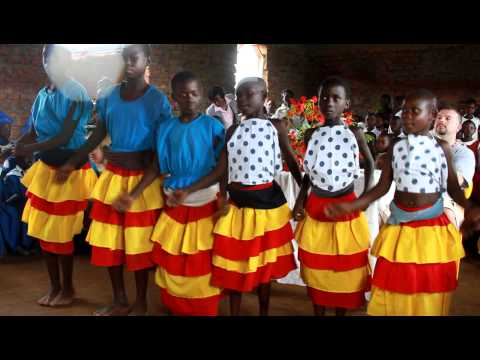 Native African dance from the kids at Vision Nursery & Primary School