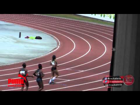 Michelle Lee Ahyee wins 100m in Guadeloupe