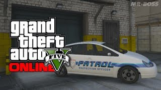 GTA 5 Online: Secret Cars Merryweather Security Car