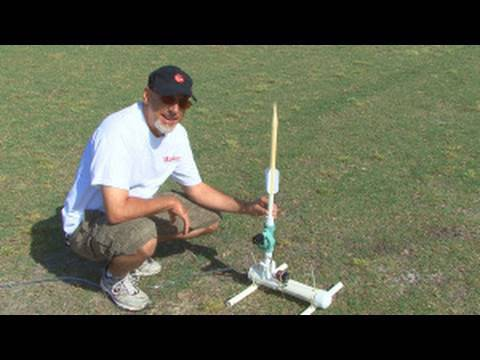 Weekend Project: Compressed Air Rocket