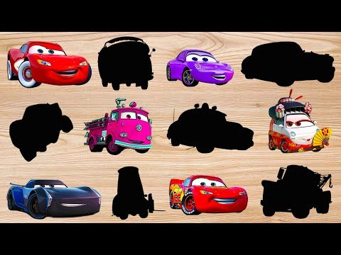 Mcqueen Funny Story Disney Cars Wooden hand Puzzle Finger Family Nursery Rhyme  Finger Daddysong