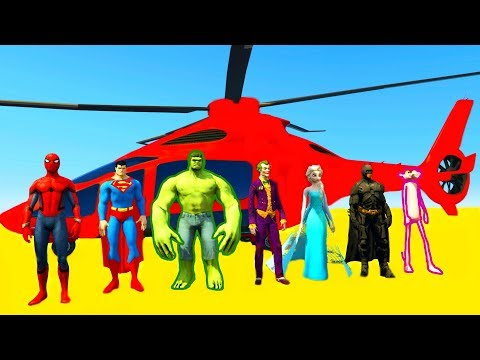 Fun Learn Color Helicopter with Cartoon for Children & Babies Nursery Rhym
