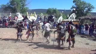 Apache Crown Dancers From Cibecue, AZ. 'Dishchii'Bikoh