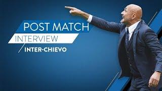 Inter-ChievoVerona 5-0   Luciano Spalletti at Inter TV
