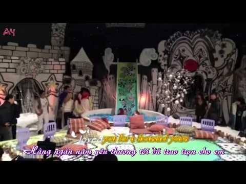 YOONSIC Yoona & Jessica _A thousand year ( LYRIC+ VIETSUB)