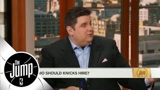 Brian Windhorst: Knicks should wait before hiring coach | The Jump | ESPN