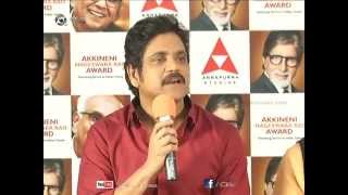 ANR Award 2013 Announcement Press Meet Video - Nagarjuna