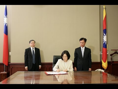 President Tsai signs appointment decrees for politically-appointed officials
